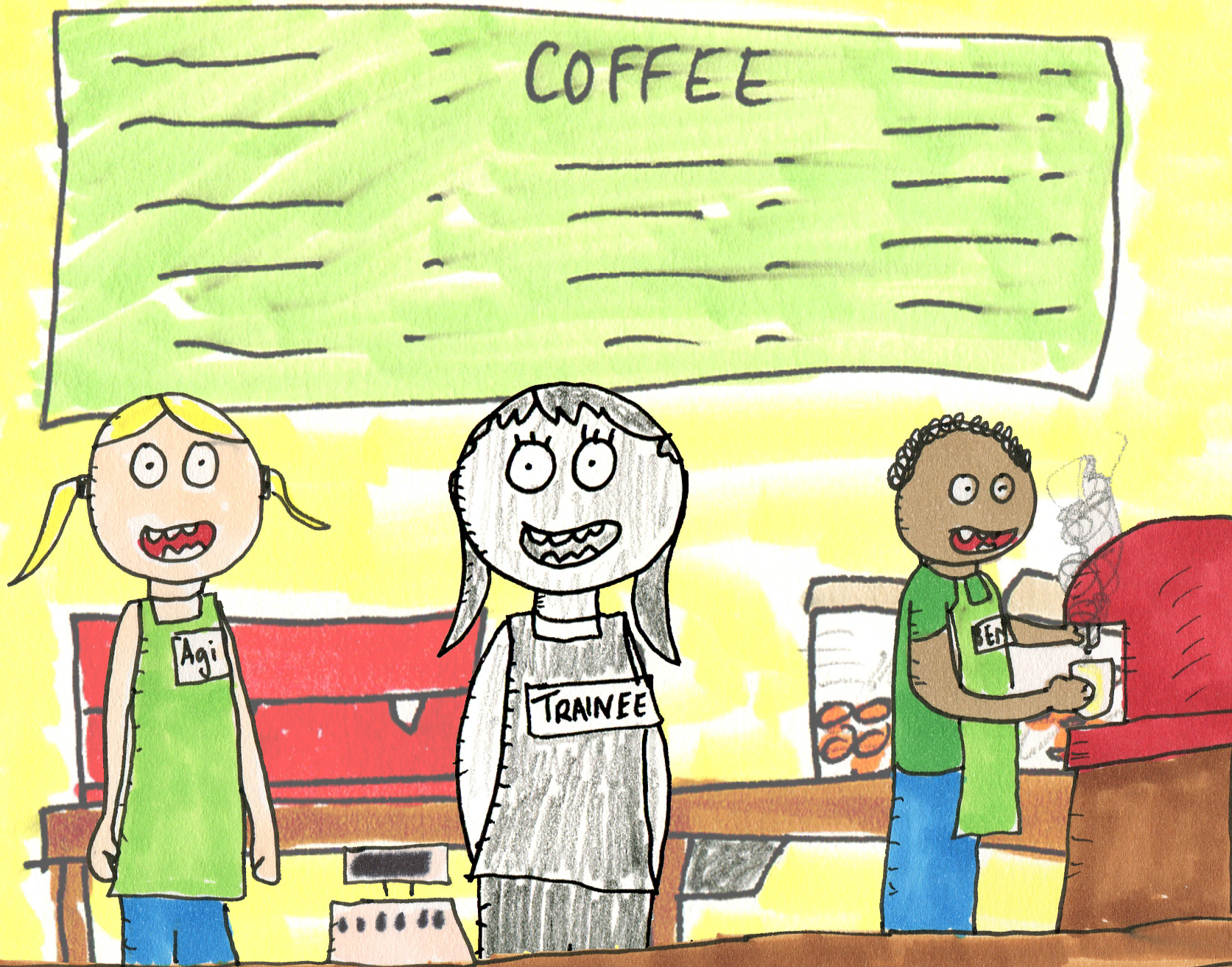 What can coffee shop trainees and corporate talent shows teach us about identity and community?